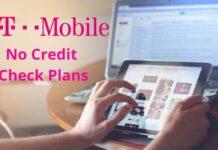 T Mobile No Credit Check Plans